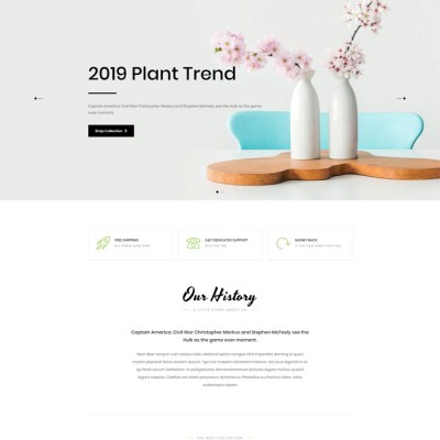 Скачать Plantmore-OpenCart Theme на сайте rus-opencart.info