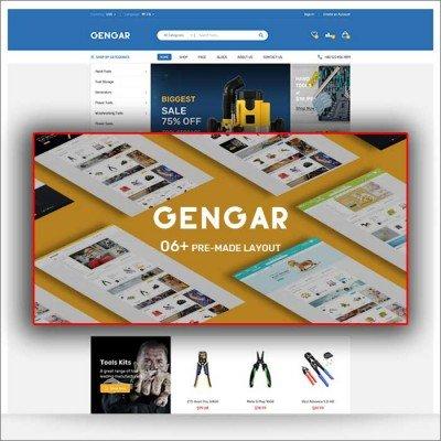 Скачать Gengar-Responsive Opencart Theme на сайте rus-opencart.info