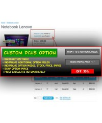 Custom Plus Option