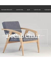 Decao-An elegant furniture Opencart theme