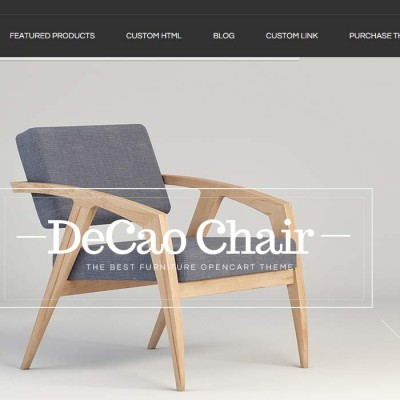 Скачать Decao-An elegant furniture Opencart theme на сайте rus-opencart.info