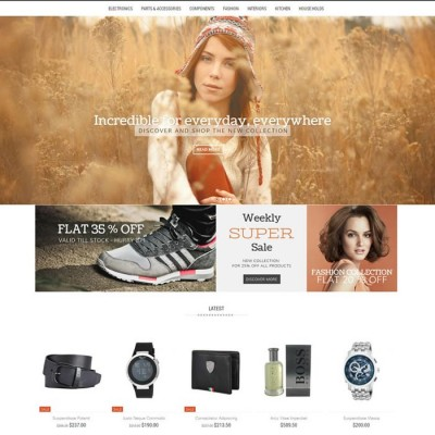 Скачать Incredible - Opencart Responsive Theme на сайте rus-opencart.info
