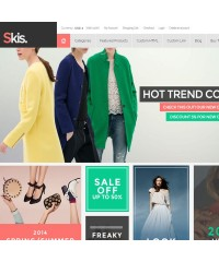 Skis-Trendy Opencart theme for online store