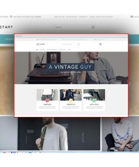Start-Modern minimalist fashion theme