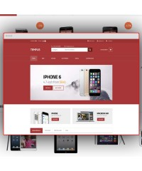 Tempus-A stylish responsive OpenCart template