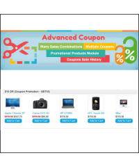 Advanced Coupon - Many Combinations