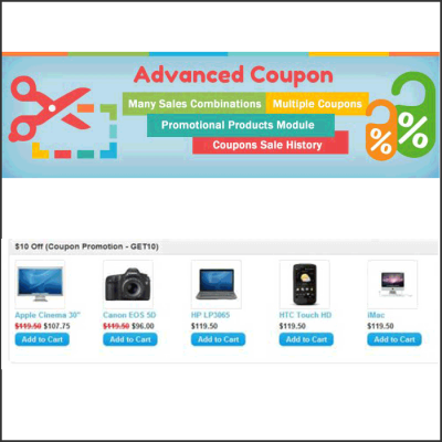 Скачать Advanced Coupon - Many Combinations на сайте rus-opencart.info