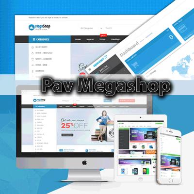 Скачать Pav Megashop Responsive Opencart Theme на сайте rus-opencart.info