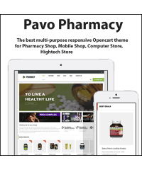 Pav Pharmacy Responsive Opencart Theme
