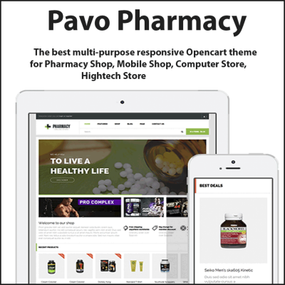 Скачать Pav Pharmacy Responsive Opencart Theme на сайте rus-opencart.info