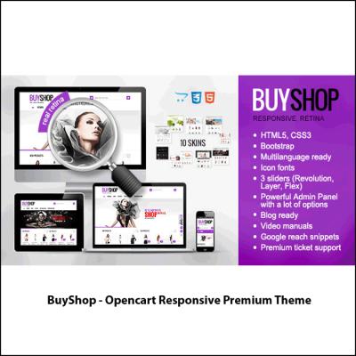 Скачать BuyShop - Opencart Responsive Premium Theme на сайте rus-opencart.info