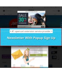 Newsletter Sign Up With Popup Sign Up