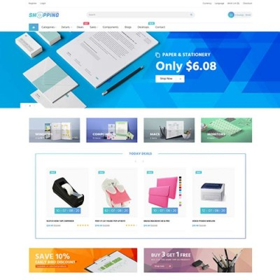 Скачать Pav Shopping Office Responsive Opencart Theme на сайте rus-opencart.info