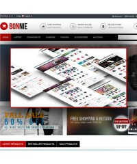 Bonnie-Multipurpose Responsive OpenCart Theme