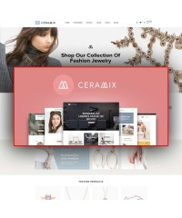 Lexus Ceramic Advanced Multipurpose Opencart Theme