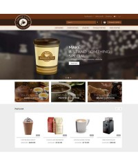 Coffee-Opencart Responsive Theme