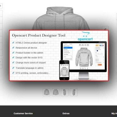 Скачать Opencart Custom Product Designer на сайте rus-opencart.info