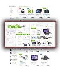 MediaCenter-Responsive Opencart Template