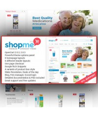 ShopMe–Multipurpose Opencart Theme