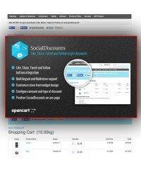 Social Discounts |  Скидка за лайк в социальной сети
