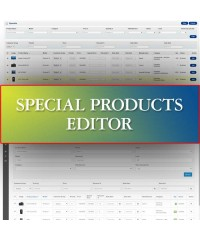 Special Products Editor
