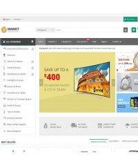 Market-A premium responsive OpenCart theme