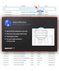 Мониторинг в админ панели | Admin Monitor