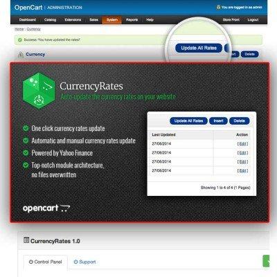 Скачать CurrencyRates на сайте rus-opencart.info