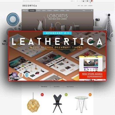 Скачать Leather-Premium OpenCart Themes Package на сайте rus-opencart.info