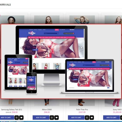Скачать Stardom Clothes opencart Theme на сайте rus-opencart.info