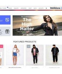 Welldone-OpenCart theme