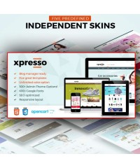 Xpresso-Responsive Multipurpose Opencart Theme