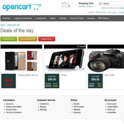 Скачать Opencart Advanced Deal of the Day на сайте rus-opencart.info