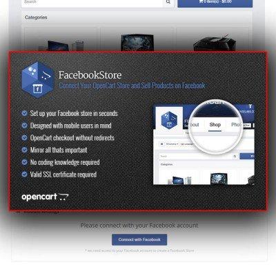 Скачать Интеграция с Facebook | Facebook Store на сайте rus-opencart.info