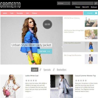 Скачать Garmento Responsive Premium OpenCart Theme на сайте rus-opencart.info