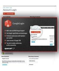 Google Login Button | Кнопка авторизации через Google
