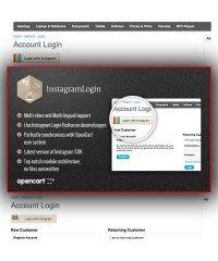 Instagram Login | Авторизация покупателей через Instagram