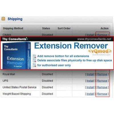Скачать Extension Remover на сайте rus-opencart.info