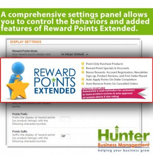 Скачать Reward Points Extended, Auto Reward, Purchasable, Discounts на сайте rus-opencart.info