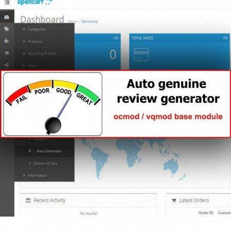 Скачать SEO Review Generator на сайте rus-opencart.info