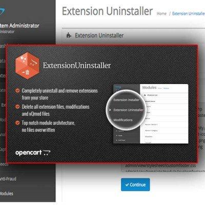 Скачать Удаление модулей | Extension Uninstaller на сайте rus-opencart.info
