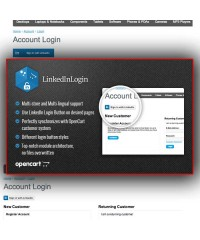 LinkedInLogin-Powerful LinkedIn Login Button