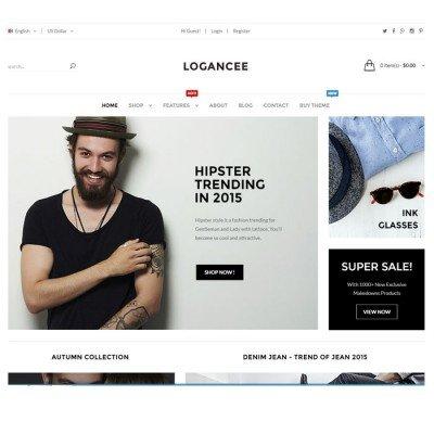 Скачать Logancee-Premium OpenCart Template на сайте rus-opencart.info