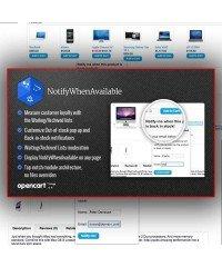 NotifyWhenAvailable | Уведомить клиента о поступлении товара