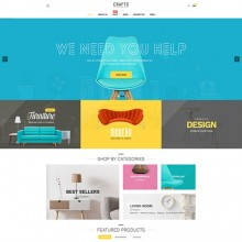 Pav Crafts Responsive Opencart theme