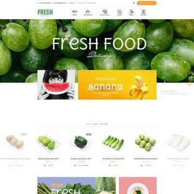 Скачать Pav Fresh Responsive Opencart Theme на сайте rus-opencart.info