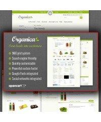 Organica Premium OpenCart Template