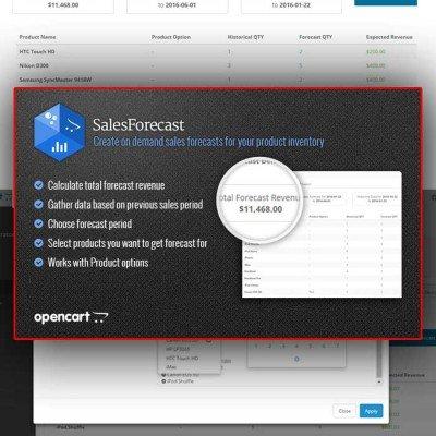 Скачать Прогнозирование продаж | Sales Forecast на сайте rus-opencart.info