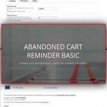 Abandoned Cart Reminder Basic
