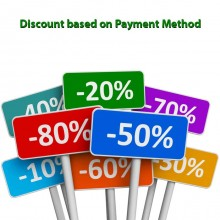 Discount based on Payment Method